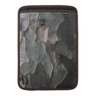 Fotografía de la macro de la corteza de árbol funda macbook air