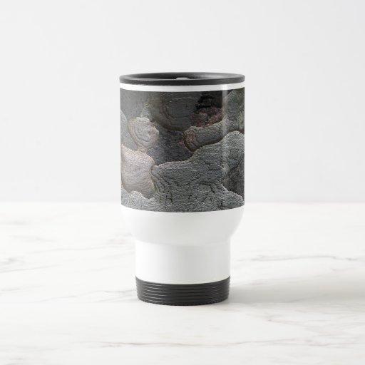 Fotografía de la macro de la corteza de árbol tazas de café