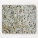 Fotografía de la macro de la roca del granito mousepads