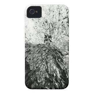 Fotografía de la mancha de tinta del árbol de arce Case-Mate iPhone 4 carcasas