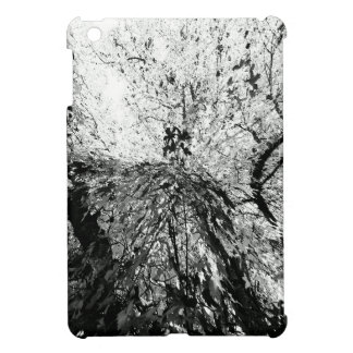 Fotografía de la mancha de tinta del árbol de arce iPad mini protector