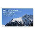 Fotografía de la montaña Nevado - tarjeta de Tarjetas De Visita