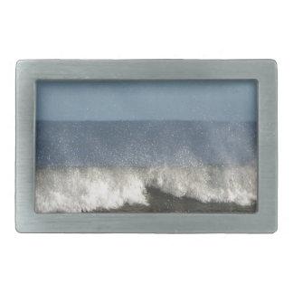 Fotografía de la playa hebilla de cinturon rectangular