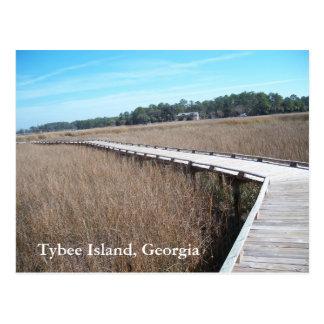 Fotografía de la postal de Georgia GA de la isla d