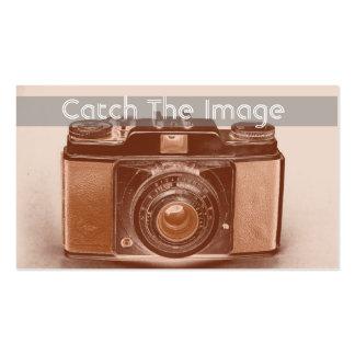 Fotografía de la tarjeta de visita de la cámara de