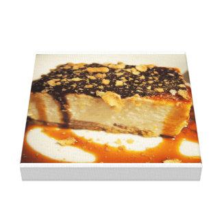 Fotografía de la torta impresión en lona