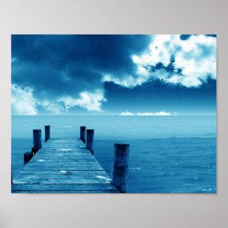 Fotografía de la vista al mar posters