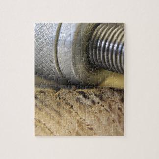 fotografía de las herramientas de la artesanía en puzzle