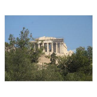 Fotografía de las ruinas del Parthenon del griego Tarjeta Postal
