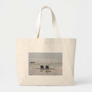 Fotografía de las sillas de playa bolsa tela grande