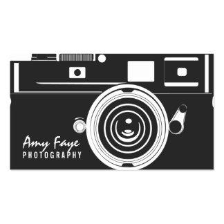 Fotografía de las tarjetas de visita de la cámara