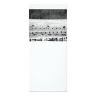 Fotografía de los cañones de la guerra civil invitación 10,1 x 23,5 cm