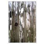 Fotografía de madera de la textura de la cerca pizarra