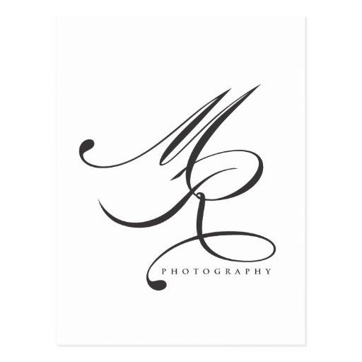 Fotografía de Melanie Ramiro (cursiva) Tarjeta Postal