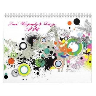 Fotografía de Rena y Design2008 Calendario