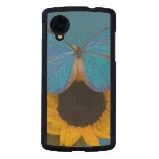 Fotografía de Sammamish Washington de la mariposa Funda De Nexus 5 Carved® Slim De Arce