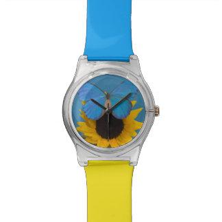 Fotografía de Sammamish Washington de la mariposa Relojes De Mano