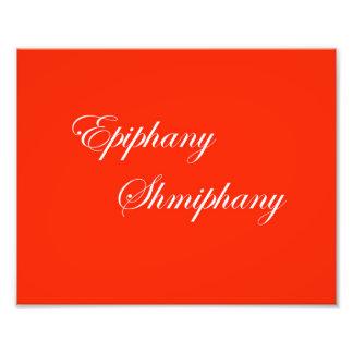 Fotografía de Shmiphany de la epifanía Fotografía