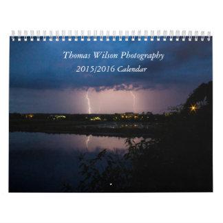Fotografía de Thomas Wilson calendario de 18 meses