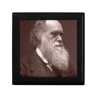 Fotografía de visite de la carta de Charles Darwin Cajas De Regalo