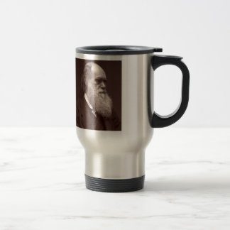 Fotografía de visite de la carta de Charles Darwin Tazas De Café
