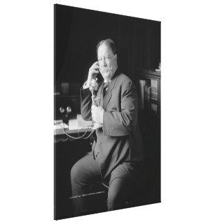 Fotografía de WILLIAM HOWARD TAFT de George W. Har Impresiones En Lienzo Estiradas