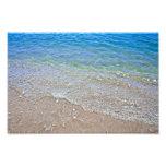 Fotografía del agua del extracto del verde azul foto