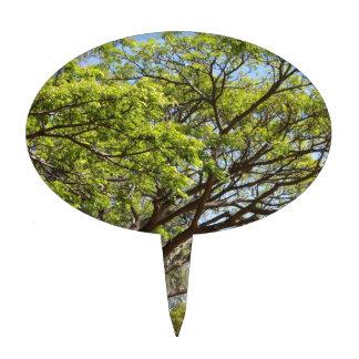 Fotografía del árbol del verano figuras de tarta