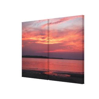 Fotografía del arte de la lona del panel de la pue impresión en lona