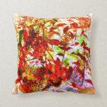 Fotografía del arte del jardín de la caída almohada