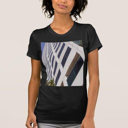 Fotografía del arte del rascacielos del negocio tee shirts