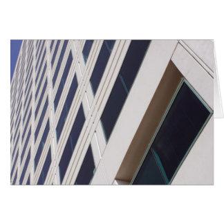 Fotografía del arte del rascacielos del negocio tarjeta de felicitación
