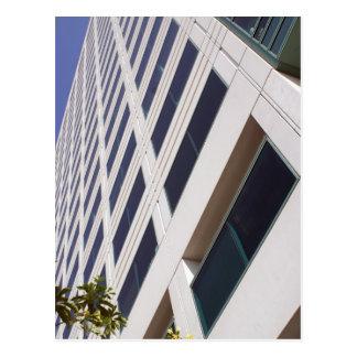 Fotografía del arte del rascacielos del negocio tarjeta postal