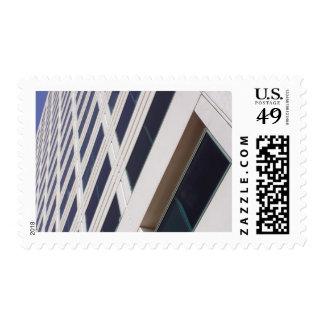 Fotografía del arte del rascacielos del negocio timbre postal