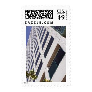 Fotografía del arte del rascacielos del negocio timbres postales