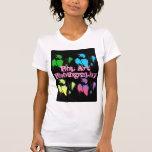 Fotografía del arte pop camisetas