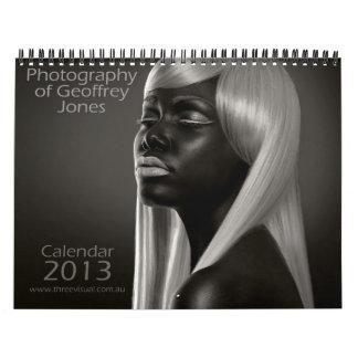 Fotografía del calendario de Geoffrey Jones 2013