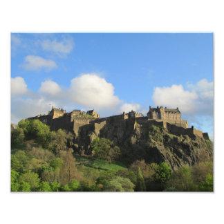 Fotografía del castillo de Edimburgo Cojinete