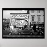 Fotografía del cine del vintage impresiones