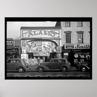 Fotografía del cine del vintage póster