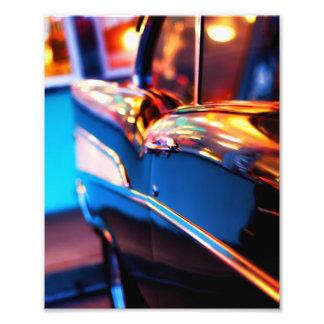 Fotografía del coche del vintage