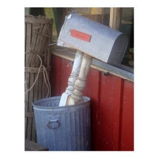 """Fotografía del """"correo basura"""" postales"""