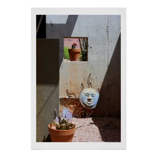 """Fotografía del desierto """"del Sun azul"""" Impresiones"""