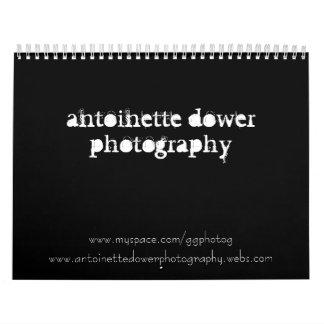 fotografía del dower de Antonieta Calendarios