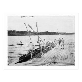 Fotografía del equipo del equipo del Rowing de la Postal