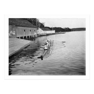 Fotografía del equipo del equipo del Rowing de la Tarjetas Postales