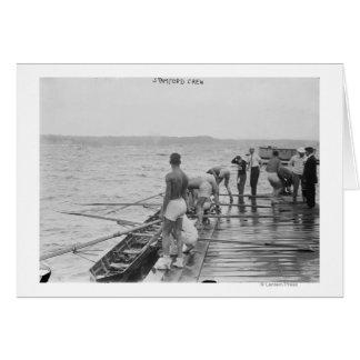 Fotografía del equipo del equipo del Rowing de Sta Felicitacion