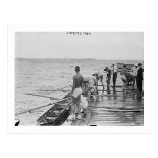Fotografía del equipo del equipo del Rowing de Postal
