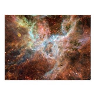 Fotografía del espacio de la nebulosa del Tarantul Tarjeta Postal
