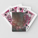 Fotografía del espacio del nacimiento de la estrel baraja cartas de poker